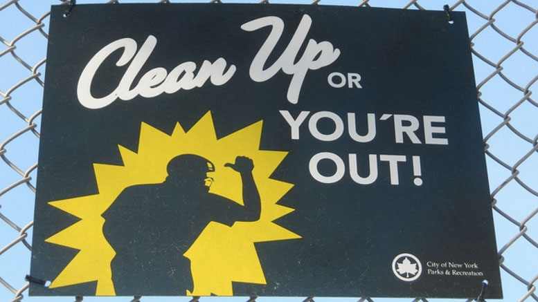 Clean up or You're Out